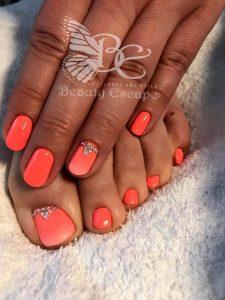 moje gellak baby boom manicure pedicure spa kinderfeestje nagels nagelstudio russische manicure nail art